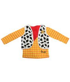 Camiseta-Manga-Longa-com-Gola-Careca---Toy-Story---Woody---Amarelo-e-Bege---Disney---2