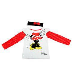 Blusa-Manga-Longa-em-Cotton---Minnie---Branco-e-Vermelho---Disney---2