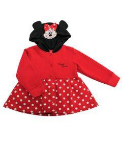 Casaco-de-Moletom---Minnie---Vermelho-e-Preto---Disney