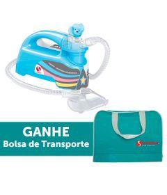 Inalador-Nebulizador-Ultrassonico-Pulmosonic-Star-Premium---Azul-Com-Bolsa-de-Transporte---Soniclear
