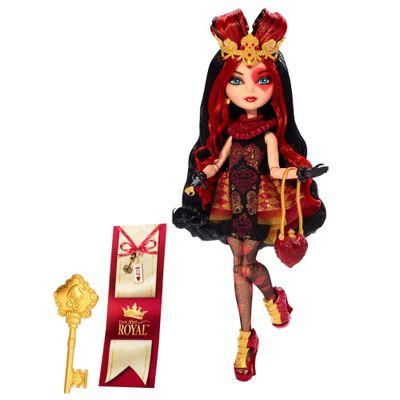 Boneca-Articulada---Ever-After-High---Royal-Rebel---Lizzie-Hearts---Mattel