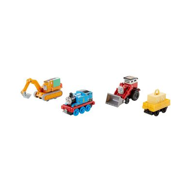Conjunto-de-Locomotivas-e-Vagao---Thomas-e-Friends-Adventure---Jack-e-Sua-Turma---Fisher-Price