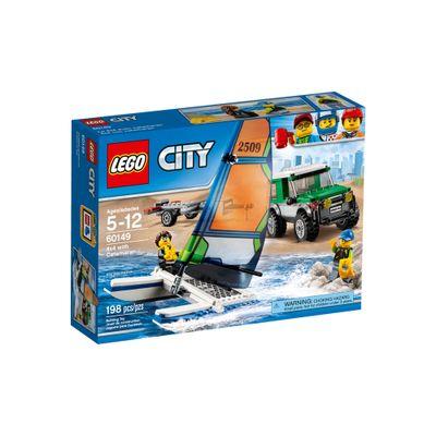 60149---LEGO-City---4x4-com-Catamara