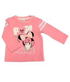 Blusa-Manga-Longa-em-Cotton---Minnie---Rosa-e-Branco---Disney---P
