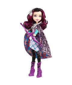 Boneca-Articulada-com-Acessorios---30-Cm---Ever-After-High---Raven-Queen-com-Arco-Magico---Mattel