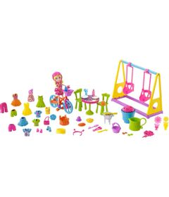 Mini-Boneca---Polly-Pocket---Brincando-no-Quintal---Mattel