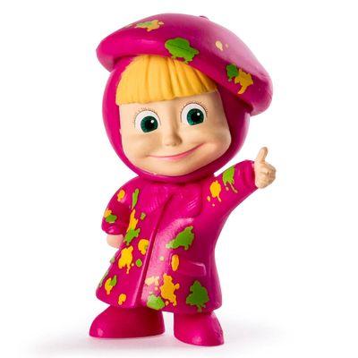 Mini-Figuras-Basicas---Masha-e-o-Urso---Masha-Pintora---Sunny