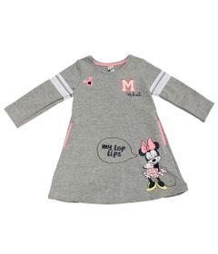 Vestido-Manga-Longa-em-Moletom---Minnie---Cinza-Mescla-Rosa-e-Branco---Disney---2