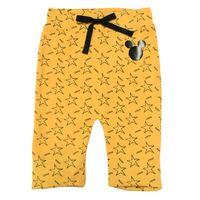 Calca-em-Suedine-sem-Pe---Mickey---Amarelo-e-Preto---Disney---P