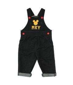 Jardineira-em-Denin---Mickey---Preto-e-Amarelo---Disney---P