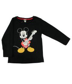 Camiseta-Manga-Longa-em-Meia-Malha---Mickey---Preto---Disney---3
