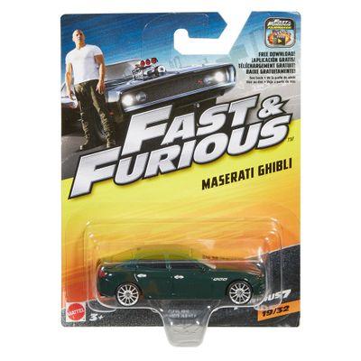 Carrinho-Die-Cast---Hot-Wheels---Velozes-e-Furiosos---Maserati-Ghibli---Mattel