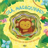 Animais-Divertidos---Ola-Macaquinho---Editora-DCL