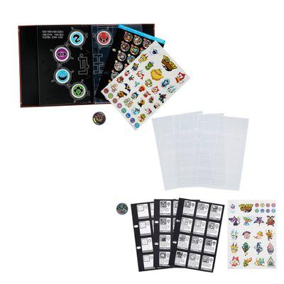 Conjunto-Colecionavel---Yo-Kai---Livro-e-Refil-de-Paginas-de-Colecao---Hasbro