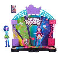 Playset-e-Boneca-My-Little-Pony---Palco-Pop-Equestria-Girls-Rainbow-Rocks-e-DJ-Pon-3---Hasbro
