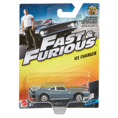 Carrinho-Die-Cast---Hot-Wheels---Velozes-e-Furiosos---Ice-Charger---Mattel