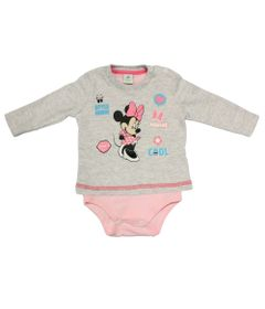 Body-Manga-Longa-em-Cotton---Minnie---Rosa-Claro-e-Cinza-Claro---Disney---P