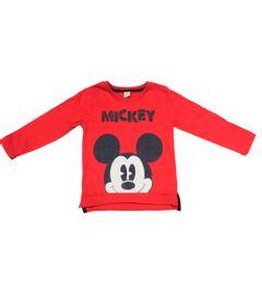 Camiseta-Manga-Longa-em-Meia-Malha---Mickey---Marinho-e-Vermelho---Disney---2