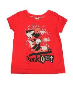 Blusa-Manga-Curta-em-Meia-Malha---Minnie---Vermelho-Preto-e-Rosa---Disney---1