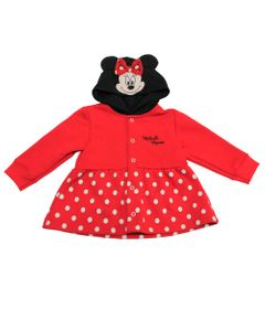 Casaco-de-Moletom-sem-Felpa---Minnie---Vermelho-e-Preto---Disney---1