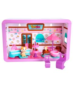 Playset-e-Mini-Figuras---Twozies---Cafe-Divertido---DTC