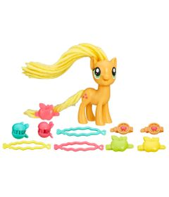 Figura-My-Little-Pony---Cabelo-Estilo---Applejack---Hasbro
