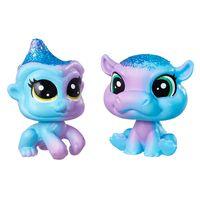 Mini-Figuras-Littlest-Pet-Shop---Dupla-Arco-Iris---Littlest-Pet-Shop-Indiglow-Apley---Cerulean-Sparkle---Hasbro