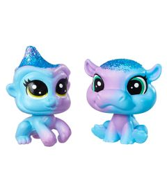 Mini-Figuras-Littlest-Pet-Shop---Dupla-Arco-Iris---Littlest-Pet-Shop-Indiglow-Apley---Cerulean-Sparkle---Hasbro