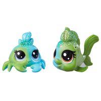 Mini-Figuras-Littlest-Pet-Shop---Dupla-Arco-Iris---Seafoam-Dazzleshell---Brillia-Beryl---Hasbro