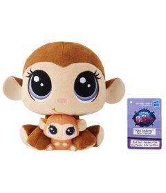 Pelucia-Littlest-Pet-Shop---Mamae-e-Filho---Mona-Junglevine-and-Merry-Junglevine---Hasbro