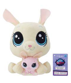 Pelucia-Littlest-Pet-Shop---Mamae-e-Filho---Vanilla-Velvetears-and-Bijou-Velvetears---Hasbro