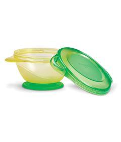 Tigela-com-Ventosa-Click-Lock---Amarelo-e-Verde---Munchkin