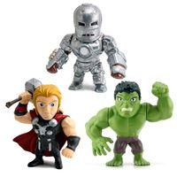 Kit-3-Figuras-Colecionaveis-15-Cm---Metals---Disney---Marvel---Civil-War-e-Hulk---DTC