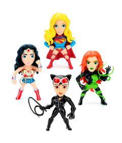 Kit-4-Figuras-Colecionaveis-10-Cm---Metals---DC-Comics---Super-Hero-Girls---DTC