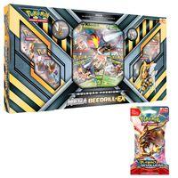Kit-Decks-Pokemon---Box-Premium---Mega-Beedrill-EX-e-Blister-Turbo-Revelacao---XY8-Sortido---Copag
