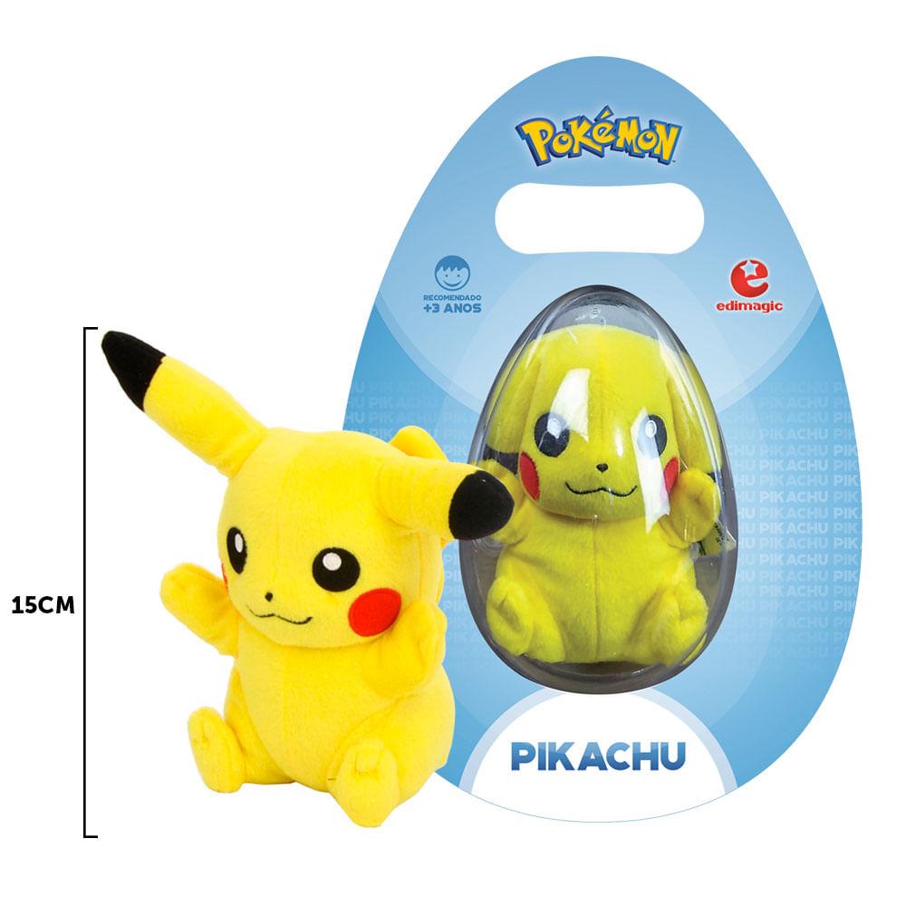 Pelúcia 15 Cm - Pokémon - Pikachu - Tomy