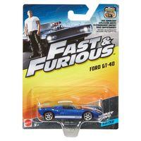 Carrinho-Die-Cast---Hot-Wheels---Velozes-e-Furiosos---Ford-GT-40---Mattel