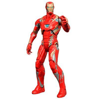 Figura-Colecionavel-18-Cm---Disney---Marvel---Captain-America---Civil-War---Iron-Man-Mark-XLVI---Iron-Studios
