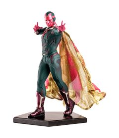 Figura-Colecionavel-20-Cm---Disney---Marvel---Civil-War---Vision---Iron-Studios