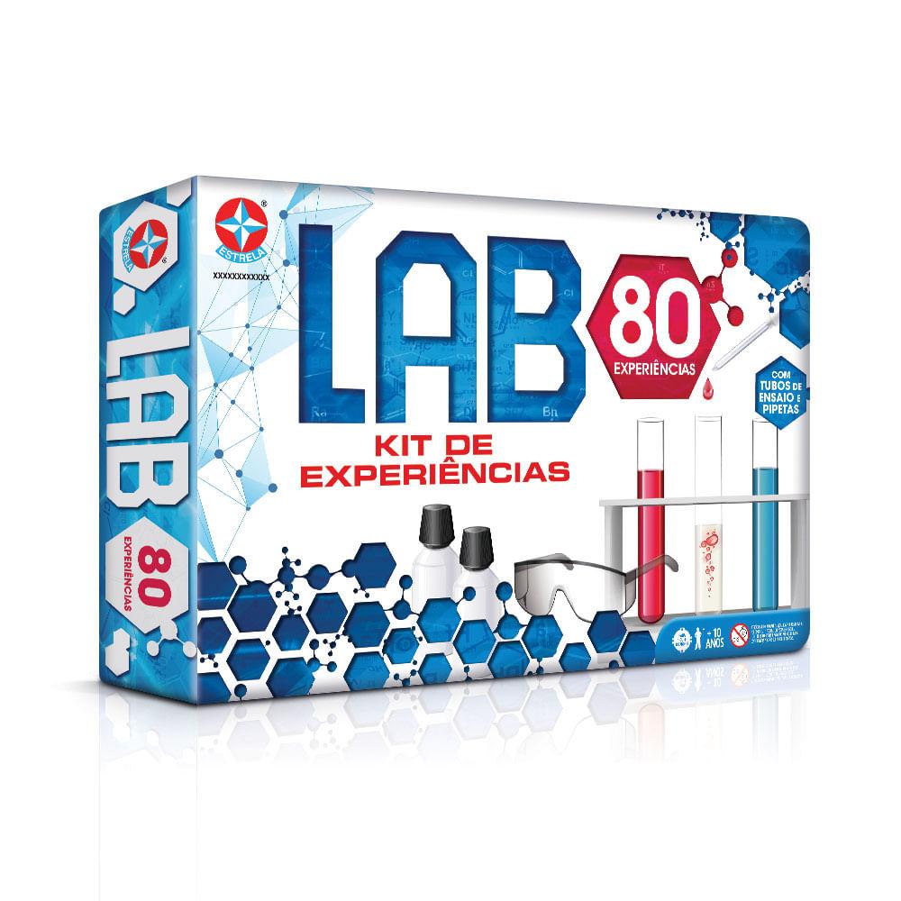 Conjunto de Atividades - Kit de Experiências - Jogo LAB - Estrela