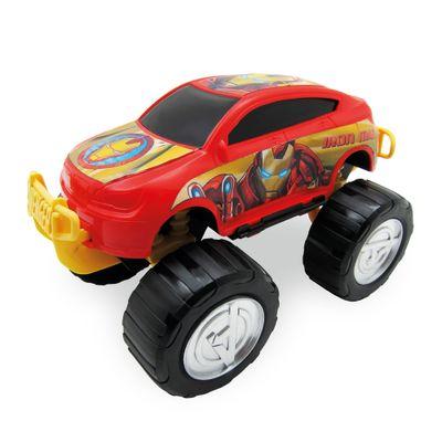 Carrinho-Roda-Livre---Monster-Car---Avengers---Iron-Man---Marvel---Toyng