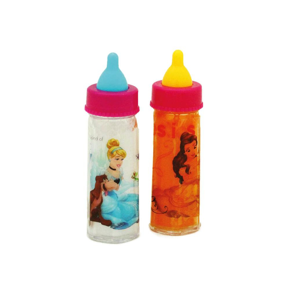 Conjunto com 2 Mamadeiras Mágicas - Princesas Disney - Toyng