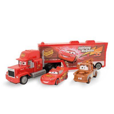 Triplo-Combo-de-Veiculos---Disney-Cars---McQueen-Mate-e-Mack---Toyng