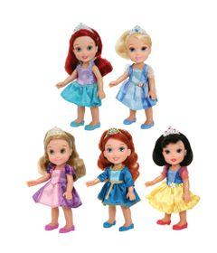 Conjunto-de-Bonecas---Disney-Mini-Princesas---New-Toys-Frente