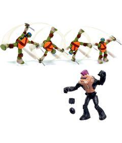 Kit-Bonecos-Articulados---Tartarugas-Ninja---Leonardo-e-Bebop---Multikids