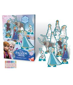 Conjunto-de-Artes---Personagens-Para-Colorir---Disney---Frozen---New-Toys