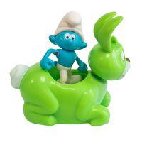 Veiculo-com-Mini-Figura---Smurfs---Hefty-Smurf-e-Bucky---Sunny