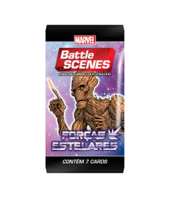 Deck-Battle-Scene---Booster-Unitario---Marvel---Forcas-Estelares---Groot---Copag