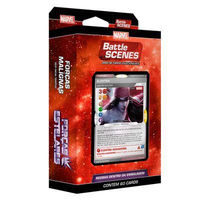 Deck Battle Scene - Marvel - Forças Estelares - Forças Malignas - Copag
