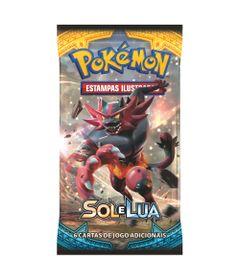 Deck-Pokemon---Booster-Unitario---Sol-e-Lua---Incenoroar---Copag